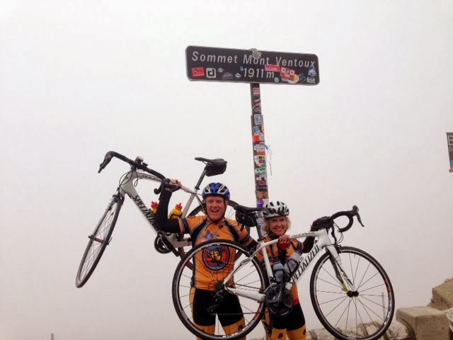 8 tim on Ventoux