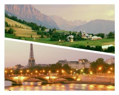 Paris vs Provence